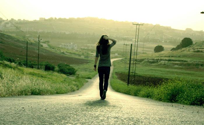 מפחד מהכיוון שהחיים