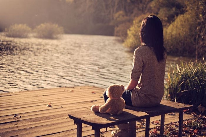 להיות לבד