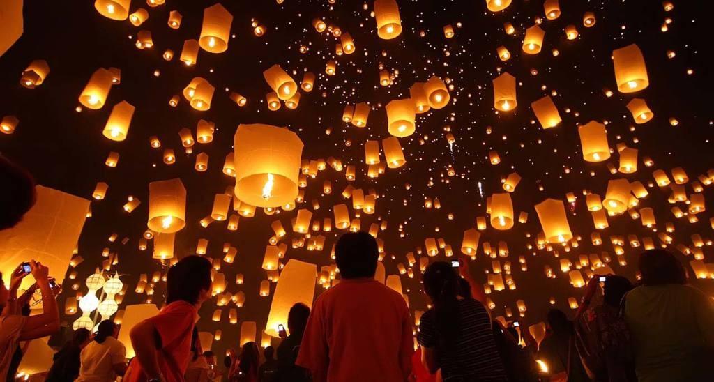 פסטיבל הפנסים Lantern Festival