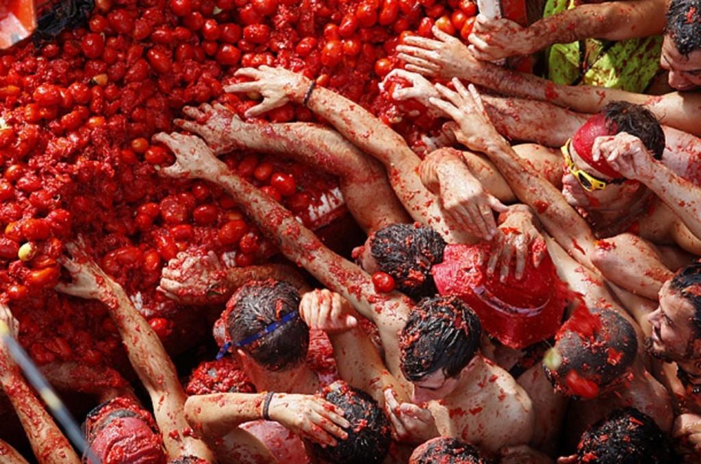 פסטיבל טומטינה La Tomatina