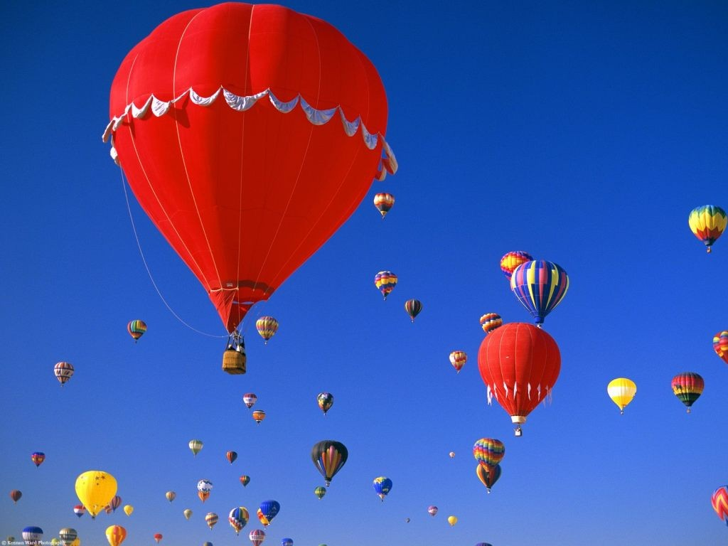 Albuquerque International Balloon Fiesta פסטיבל כדורים פורחים בינלאומי