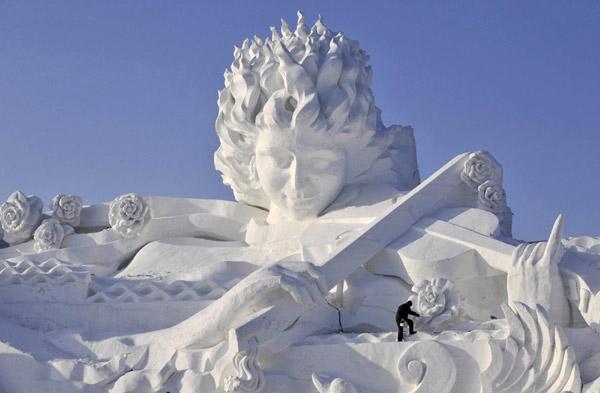 Snow & Ice Festival פסטיבל השלג והקרח