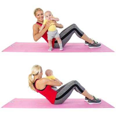 ראשן טוויסט עם התינוק